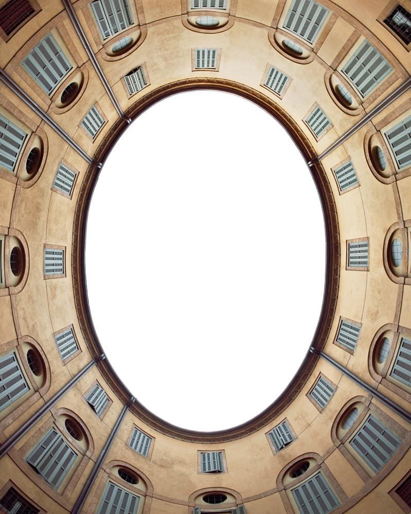 Spazio Ellittico , Ferrara, Rotonda Foschini stampa giclée su carta Hanhemuhle cm 100 x 80