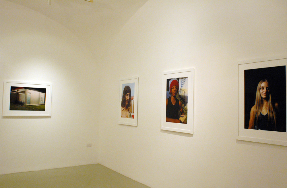 William Egglestone  Portraits 1974  Studio Trisorio Napoli, 09.11.2007