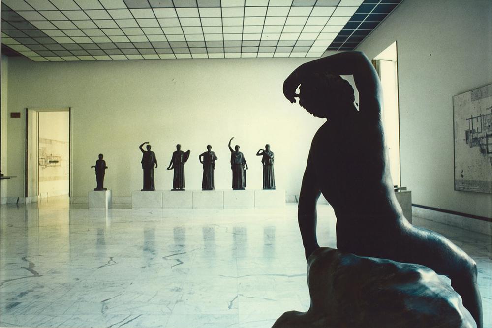 Luigi Ghirri Museo Archeologico - Napoli, 1980 Archivi della memoria Studio Trisorio Roma 07.04.2006