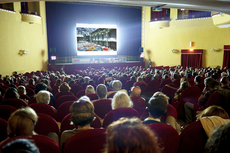 Artecinema 18 , 2013.Teatro Augusteo