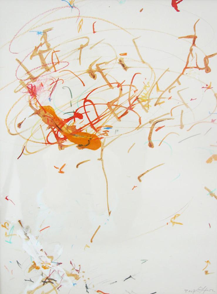Untitled, 2007 cm 32 x 23 framed 54 x 48