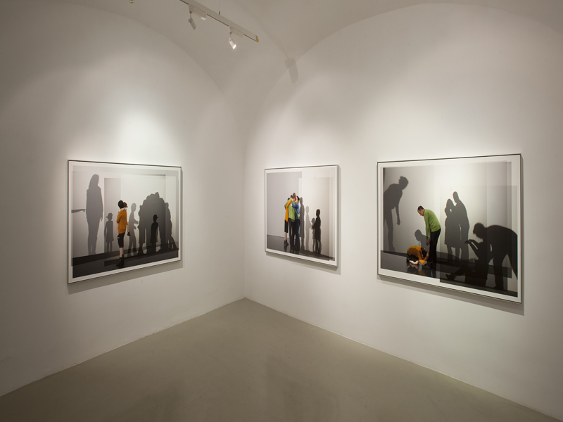 we are one body, family ties  installation view, studio trisorio napoli