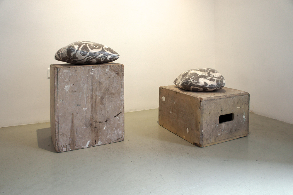 Grounded Dreams, 2014 Calcarenite delle Alpi con fossili marini/ limestone with marine fossils, 30x40x15cm