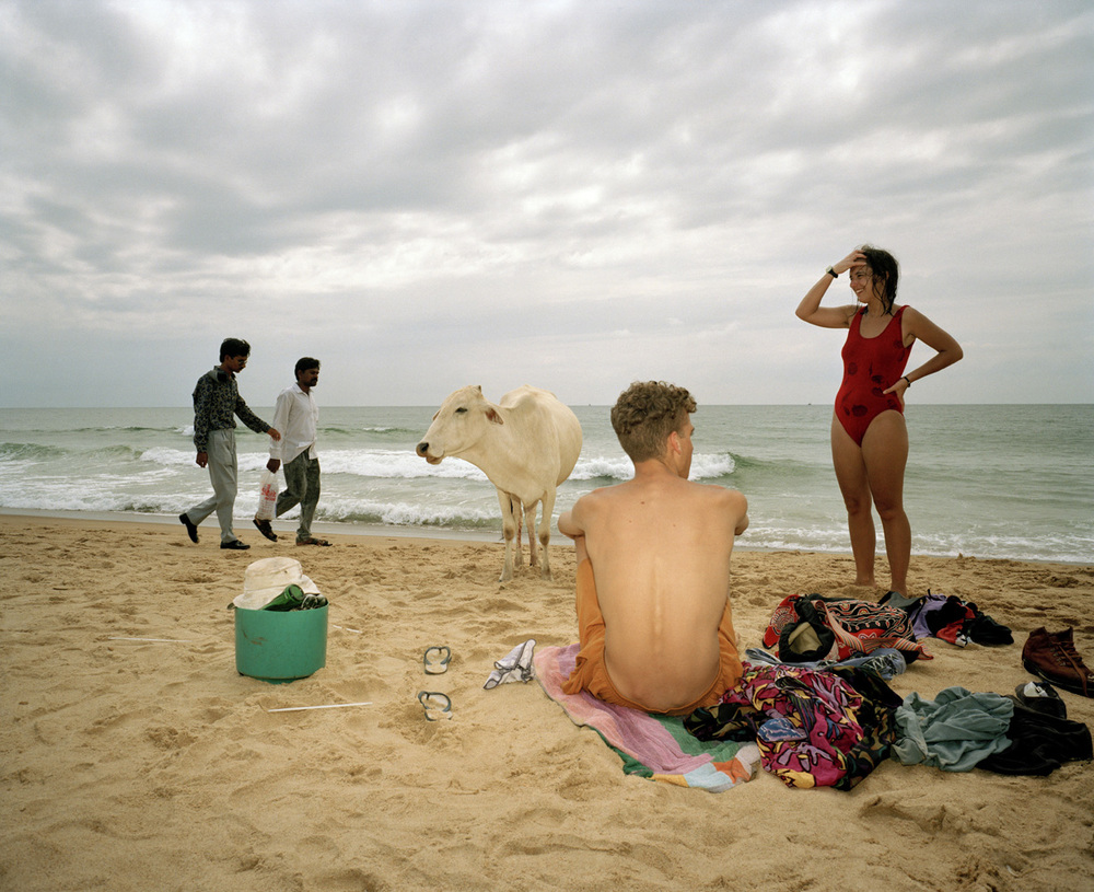 Small World , India. Goa Beach, 1995 Traditional C Print cm 51x61, ed 4\25 (cm 102x127 ed 6)