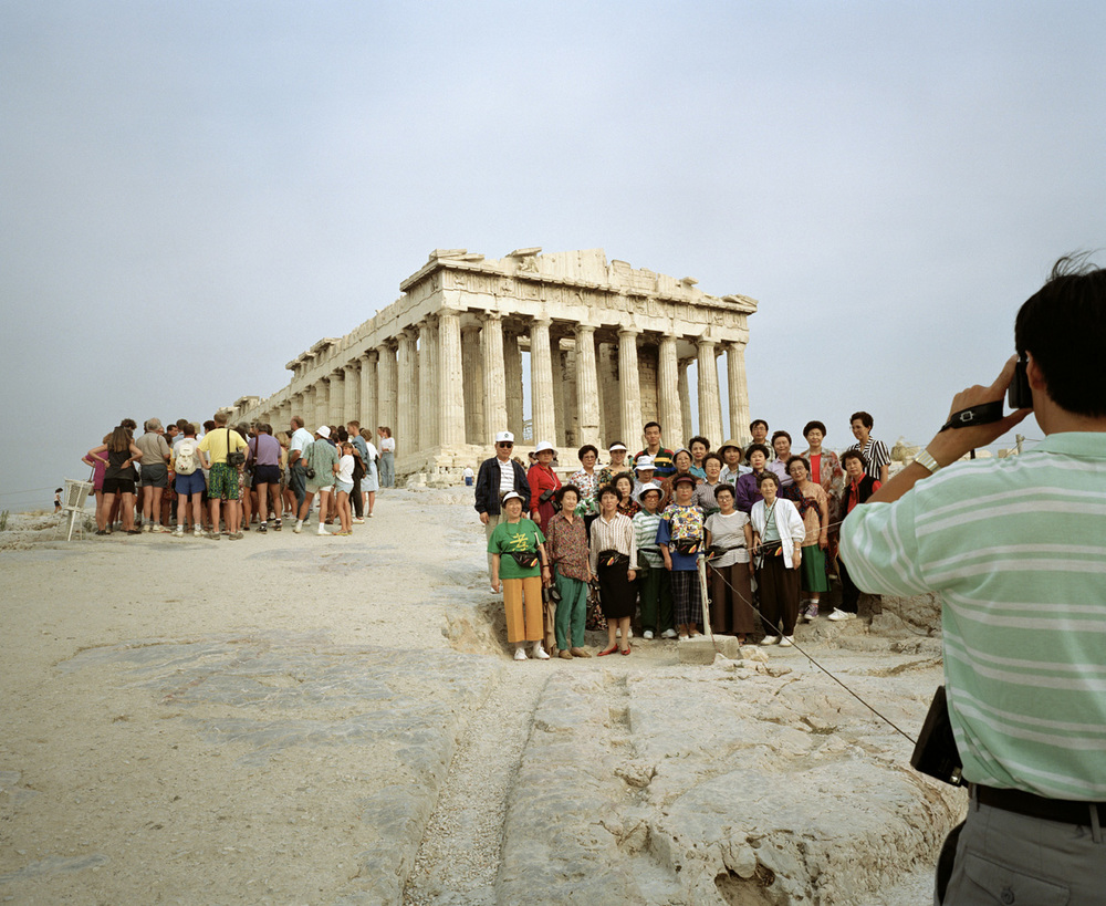 Small World , Greece. Athens, The Parthenon, 1991 Traditional C Print cm 51x61, ed 12\25 (cm 102x127 ed 6)