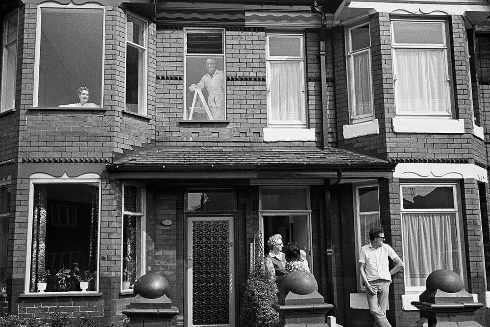 Great Britain, Manchester, Rushholme (Terraced House),1972 gelatin silver print (printed 2009), 20.5 x 40 cm uneditioned