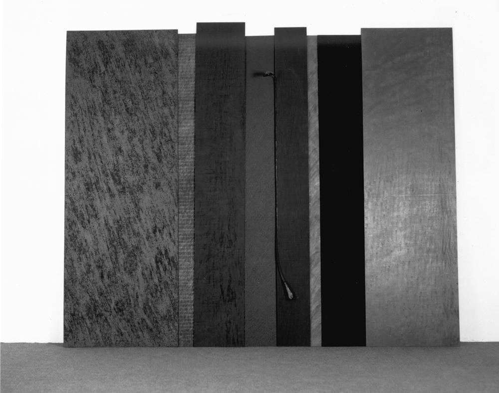 Legno, ferro e tecniche varie, 1991 cm 220 x 300 x 30
