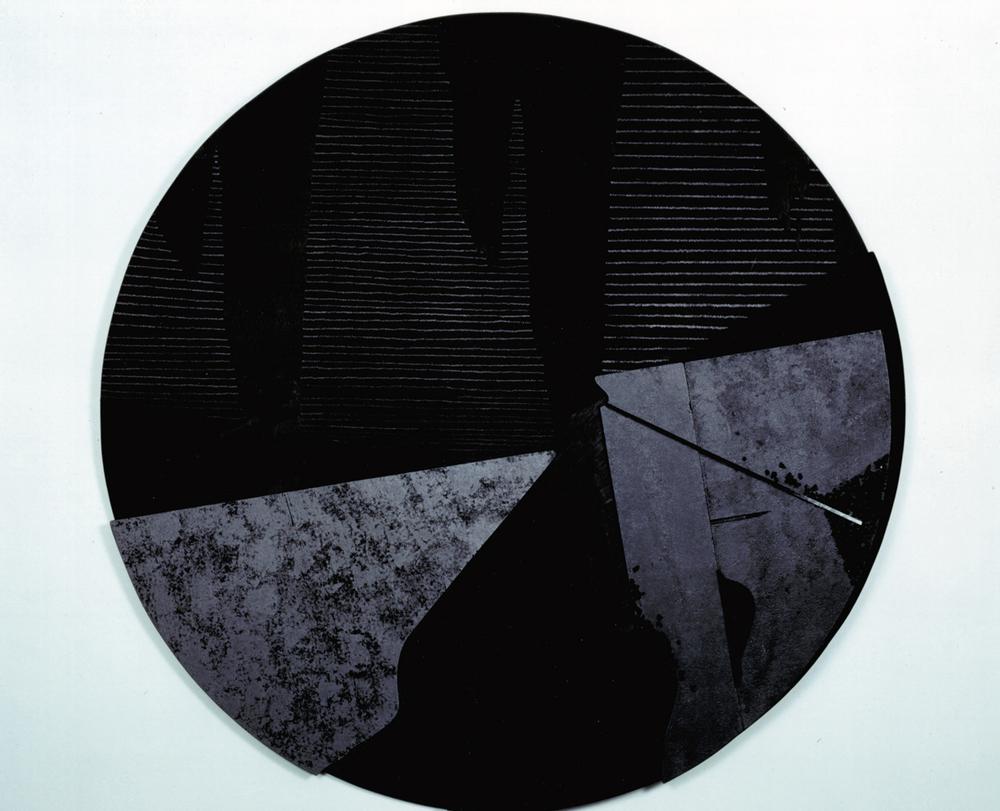 Legno e tecniche varie, 1993 diametro cm 130