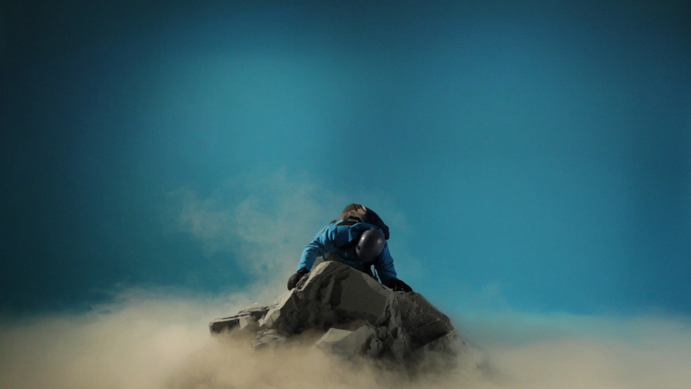 Unrealistic Mountaineers (scalatori improbabili), 2012 9'00'' Video /  HD / single channel / 16:9 / edition of 5 (plus 2 A/P's)