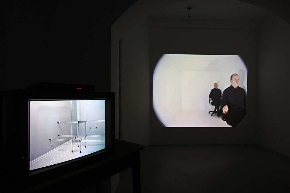 John Wood & Paul Harrison, video installazione Studio Trisorio Roma (F).jpg