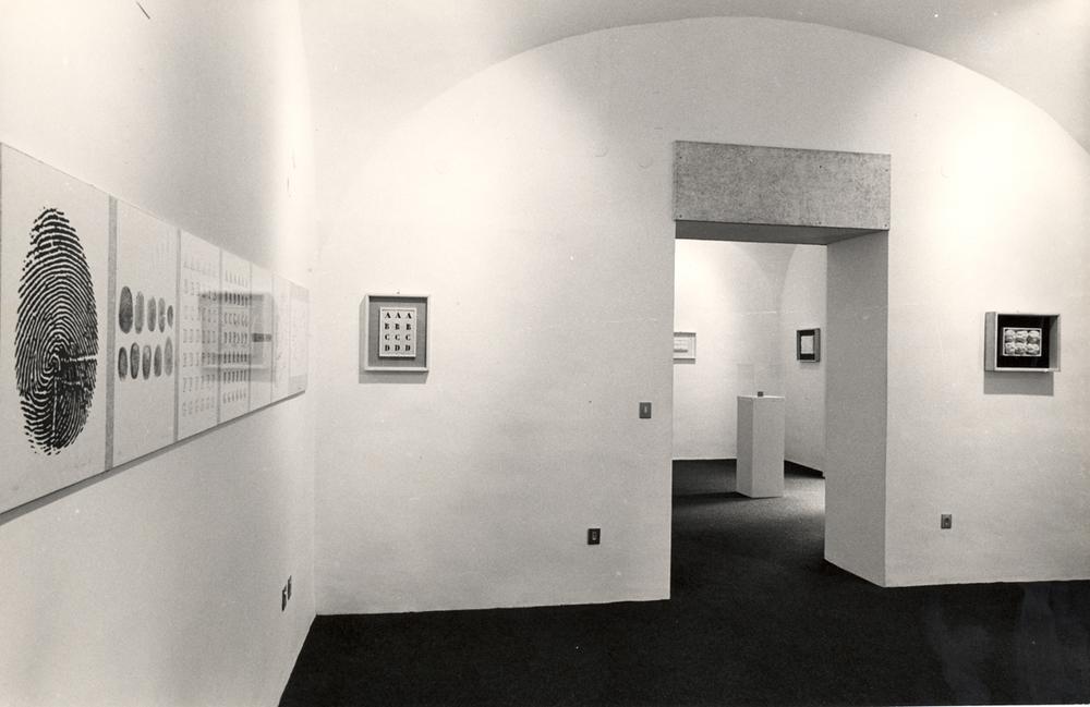 Piero Manzoni,  opere - documentazione - films , 17 dicembre 1975  © Archivio storico Jodice