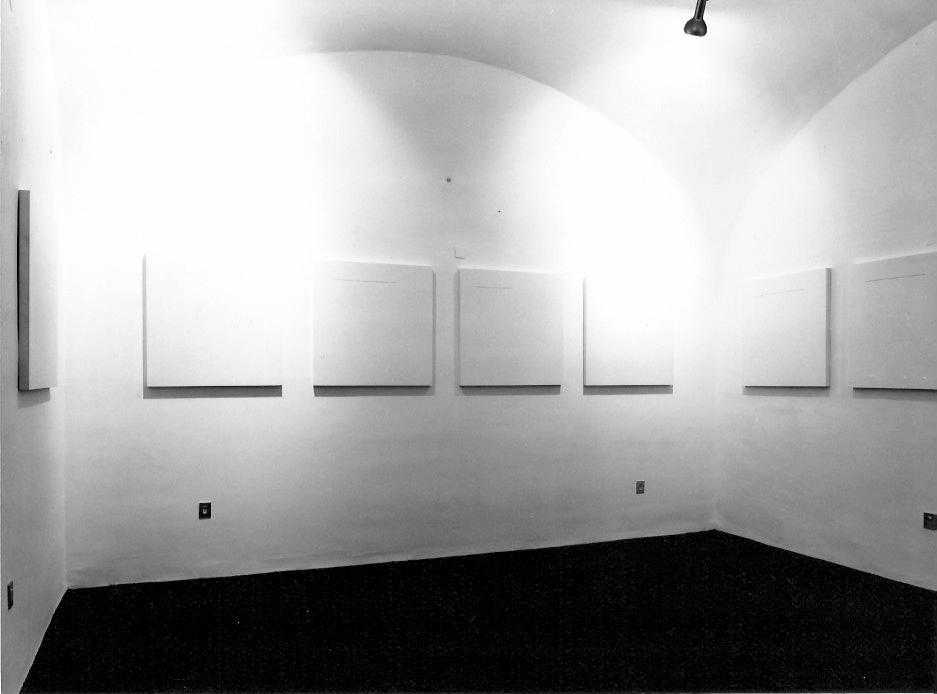 Emilio Isgrò,  Immaginare di Händel , 22 ottobre 1975  © Archivio storico Jodice