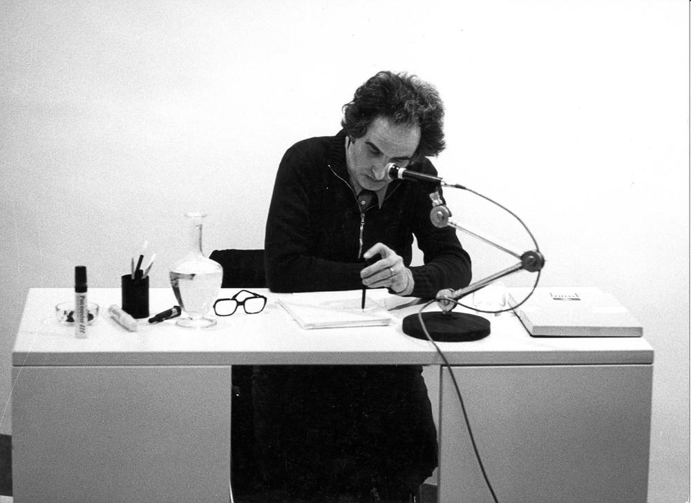 Giuseppe Chiari,  Discussione , 19 ottobre 1976  © Archivio storico Jodice