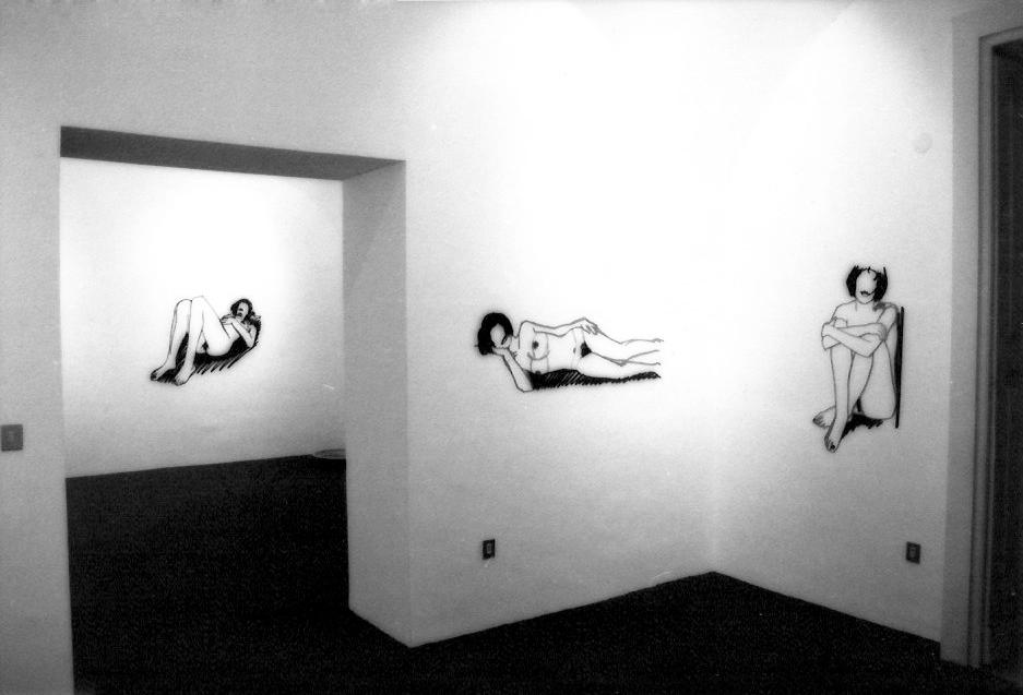 Tom Wesselmann,  Laser Nudes,  6 dicembre 1990