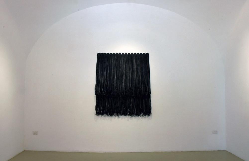 Gisela Kleinlein,  Senza Titolo , 2003, gomma, cm 143x125x5