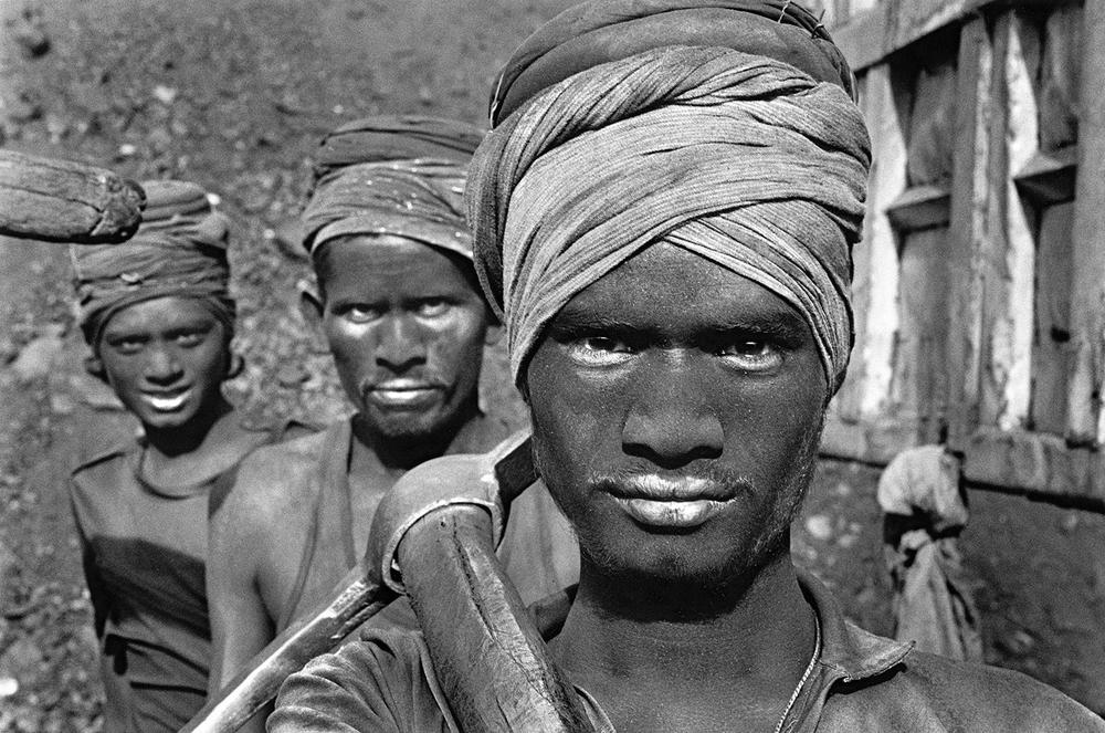Coal Mining , Dhanbad, Bihar, India, 1989