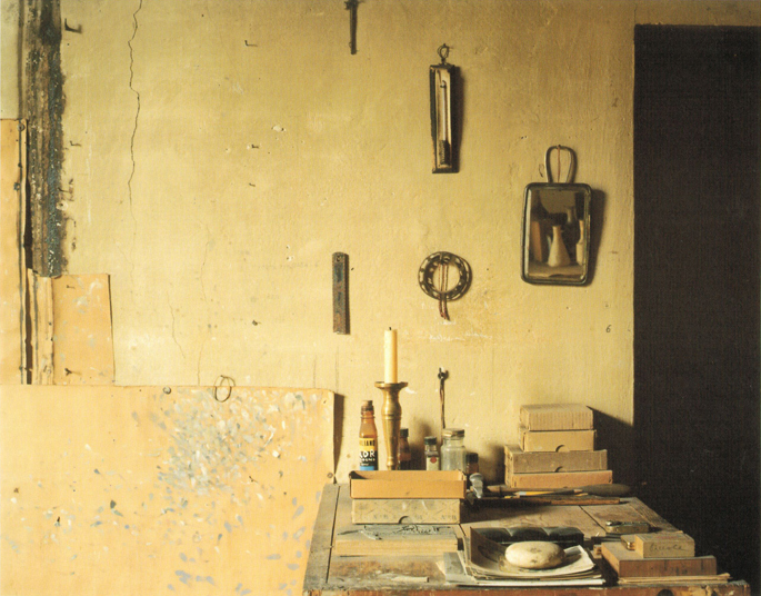 Atelier Morandi, via Fondazza - Bo, 1989-90, ed. 4/5
