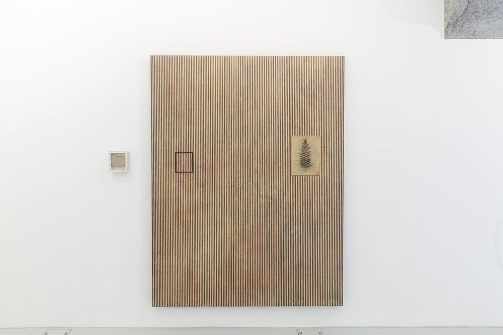Corpi fragili , 2014 Tecnica mista su tela e legno, cm 214 x 164 x 8,5