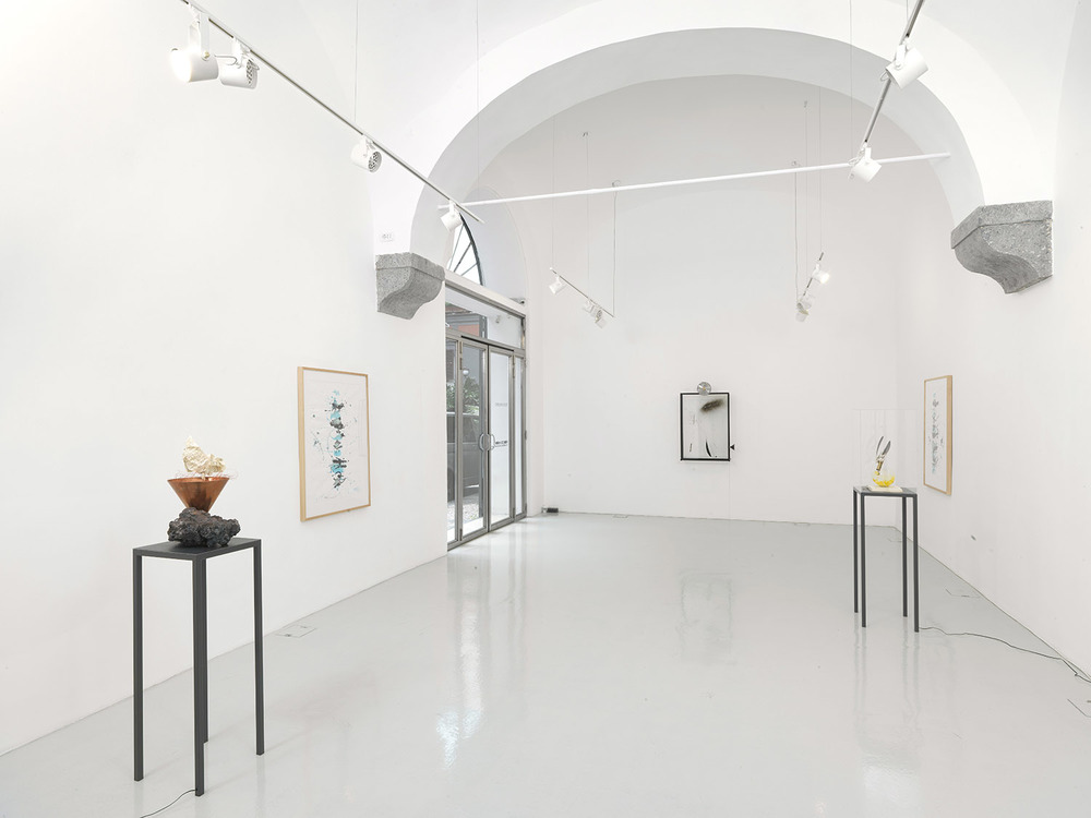 Rebecca Horn,  The Vertebra Oracle in Napoli 2015 , installation view