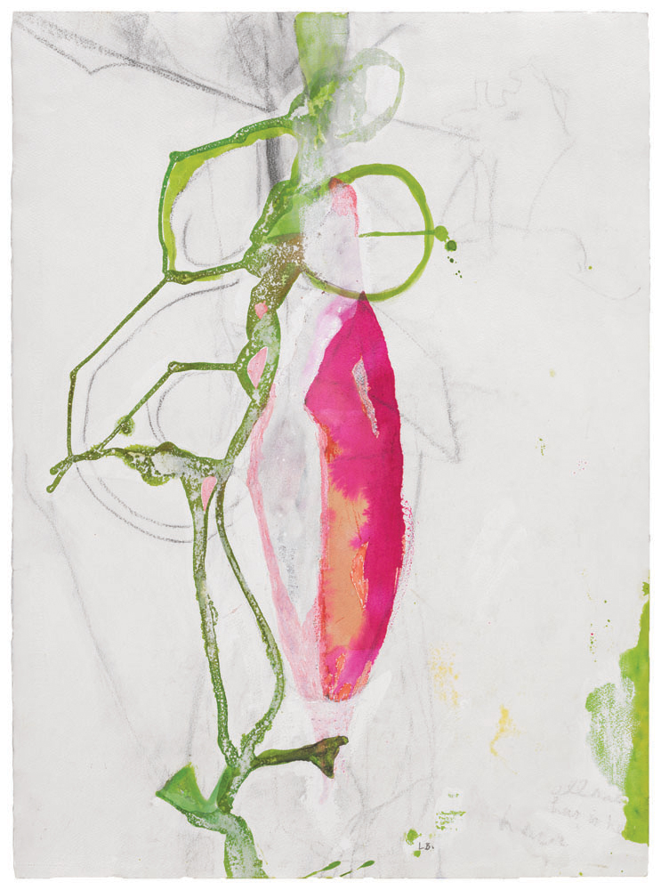 Untitled , 1988, watercolor, gouache and charcoal on paper, 76.2 x 57.2 cm Ph Christopher Burke © The Easton Foundation/SIAE