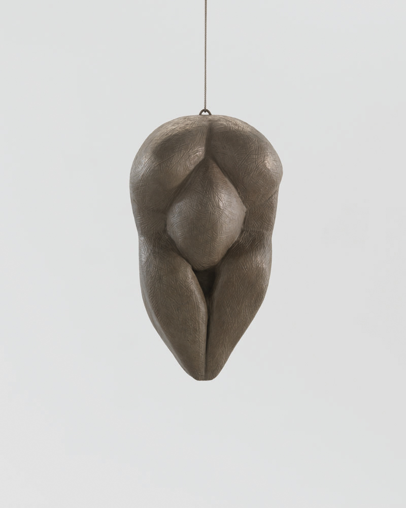 Femme , 1993, bronze, silver nitrate and polished patina, hanging piece, recto, 27.9 x 15.2 x 10.8 cm, edition 2/6, 1 AP Ph Christopher Burke © The Easton Foundation/SIAE