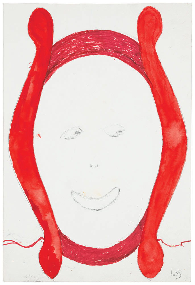 Untitled , 1997, watercolor, ink and charcoal on paper, 45.1 x 30.5 cm Ph Christopher Burke © The Easton Foundation/SIAE