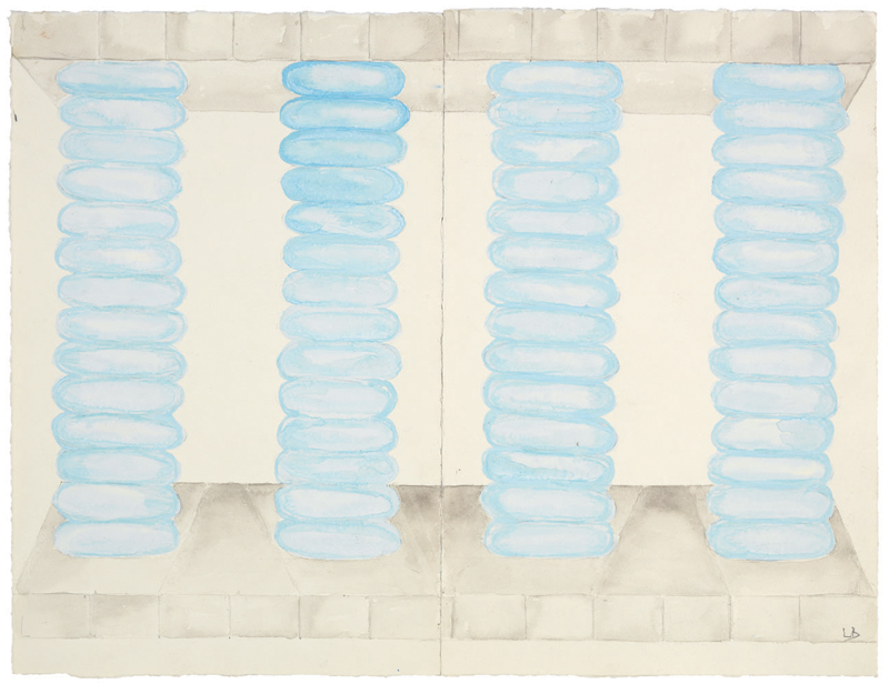 Untitled , 1997, watercolor and pencil on paper, 47.6 x 62.9 cm Ph Christopher Burke © The Easton Foundation/SIAE
