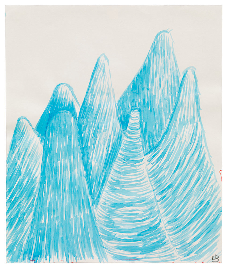 Untitled , 2003, watercolor on paper, 24.1 x 20.3 cm Ph Christopher Burke © The Easton Foundation/SIAE