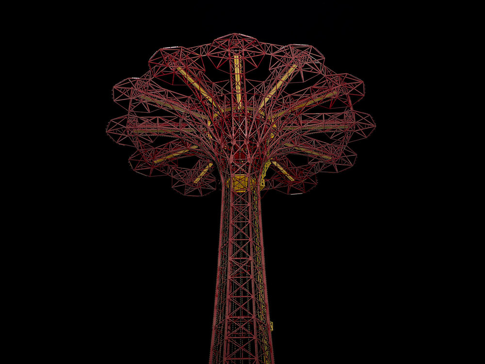 Coney island , New York cm 110 x 135 (cm 60 x 75) archival pigment print on cotton paper