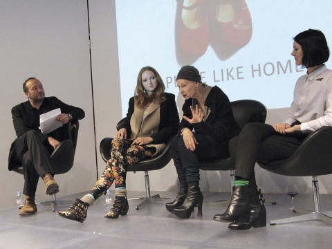 Vivienne Westwood, Lily Cole, Lorna Tucker and   Steve Trent