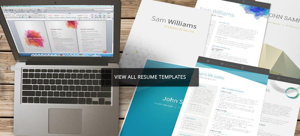 Resume templates by pure resume