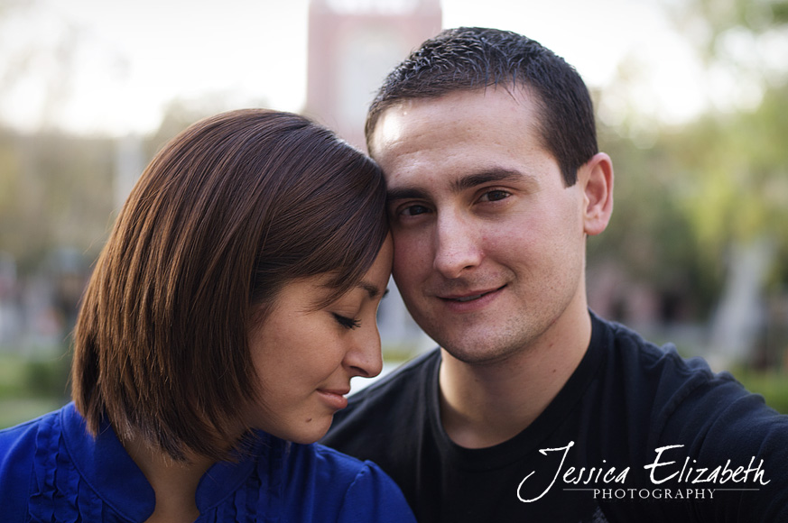 1-USC Engagement Shoot - Los Angeles Wedding Photographer_Marisa & John.jpg