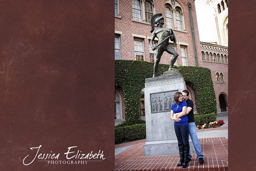 2-USC Engagement Shoot - Los Angeles Wedding Photographer_Marisa & John.jpg