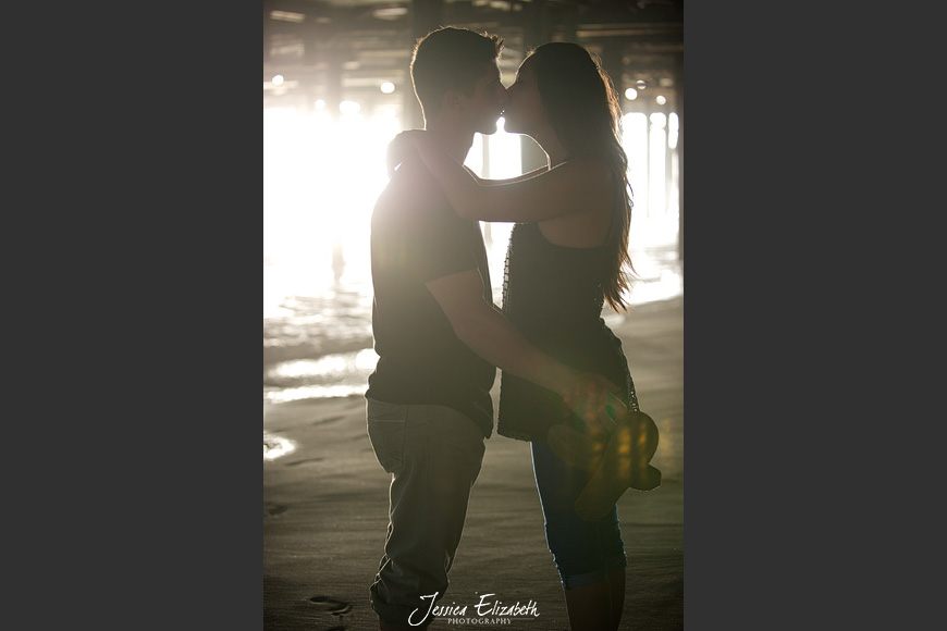 Jessica Elizabeth Wedding Photography Santa Monica Pier Engagement-14.jpg