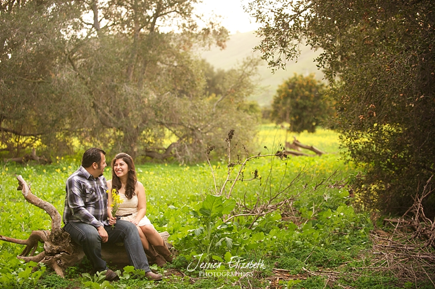 San Juan Capistrano Engagement Photographer