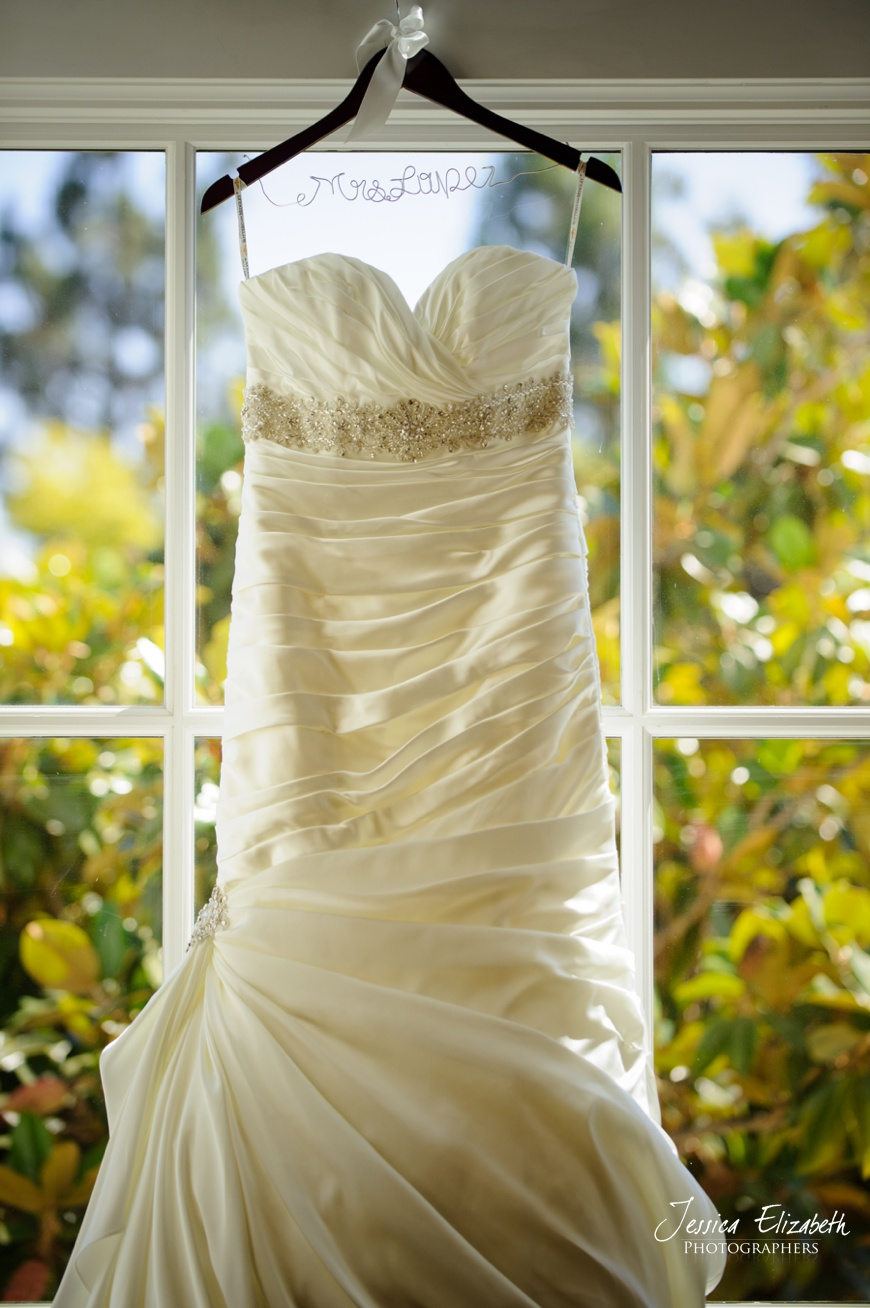 Maggie Sottero Wedding Gown at Nixon Library