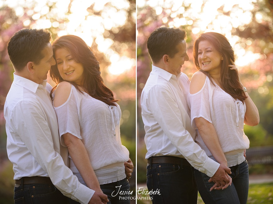 Claremont Village Engagement Photography
