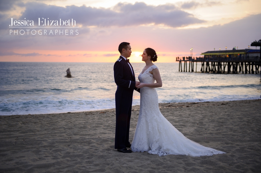 Redondo Beach Library Bridal Portraits