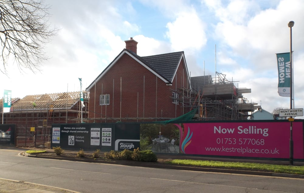 New homes at Wentworth Avenue