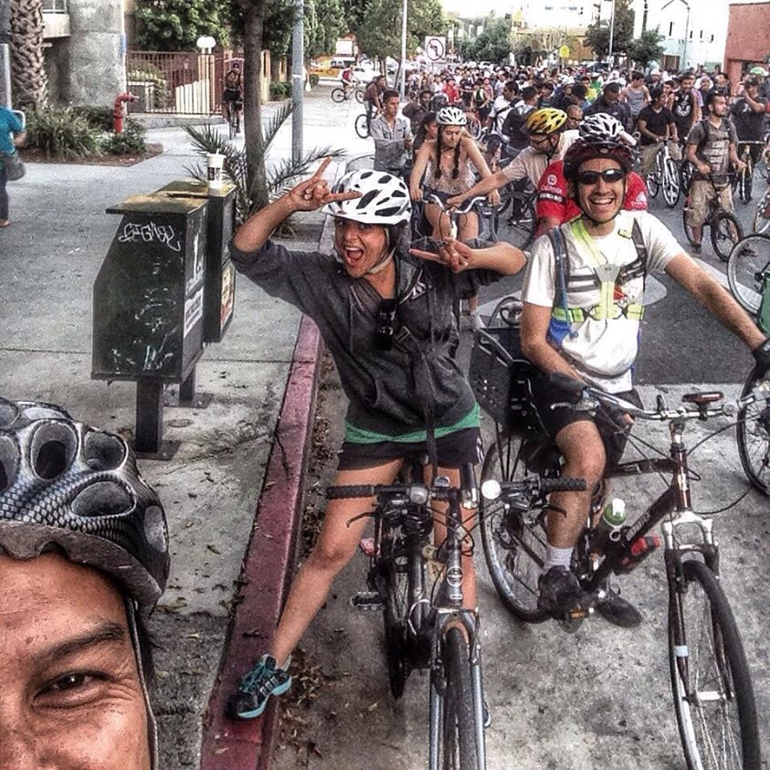 This Month's Ride — LA Critical Mass America's Largest ...