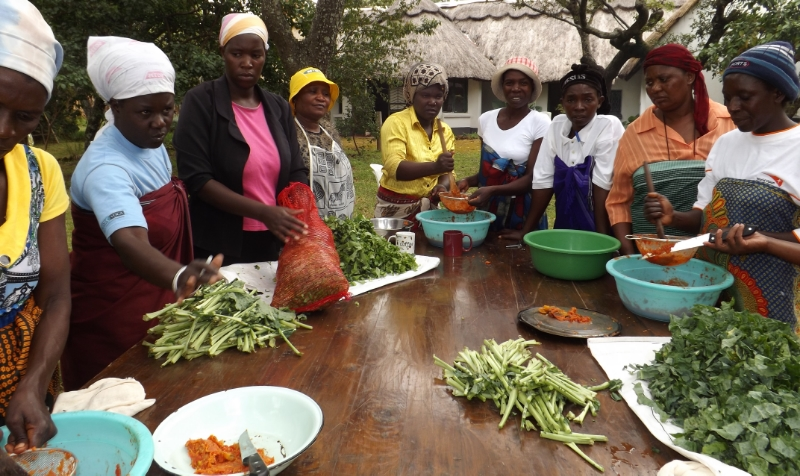 Learning to process and store excess produce