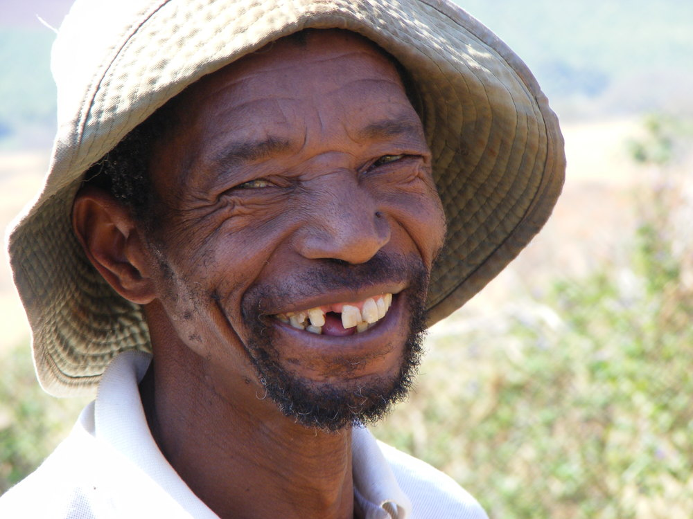 'Oh! Goodbye poverty. You have no place in my life now I have permaculture.' Philip Mavuso