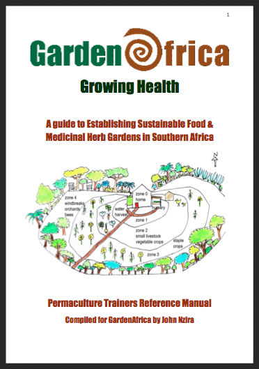English language version of Garden Africa's guide to setting up sustainable food and medicinal gardens