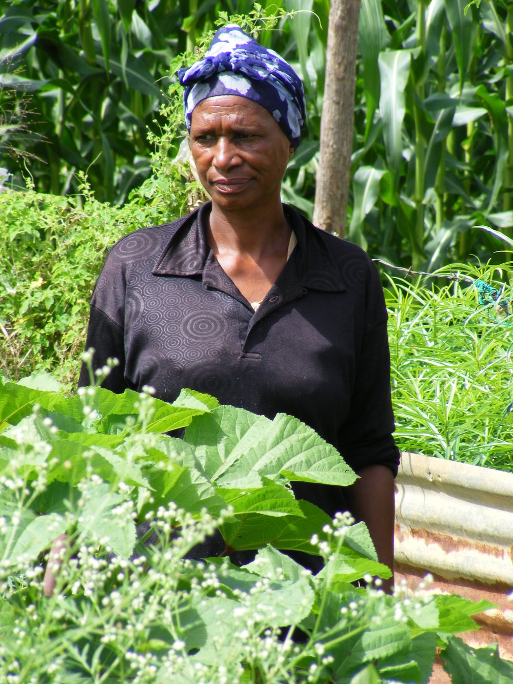 Thoko Ngwnena:'I used to be a loner, and no-one would come to visit my home. Now they visit me, and I visit them, because I have information and skills to share. Life is better. I now have a good relationship with my relatives. I am respected in my family, and my ideas are now listened to.'