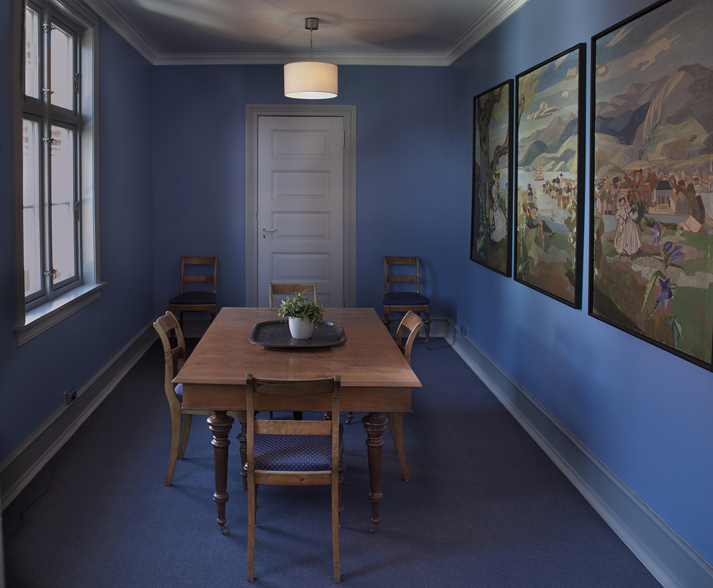 Det blå rom