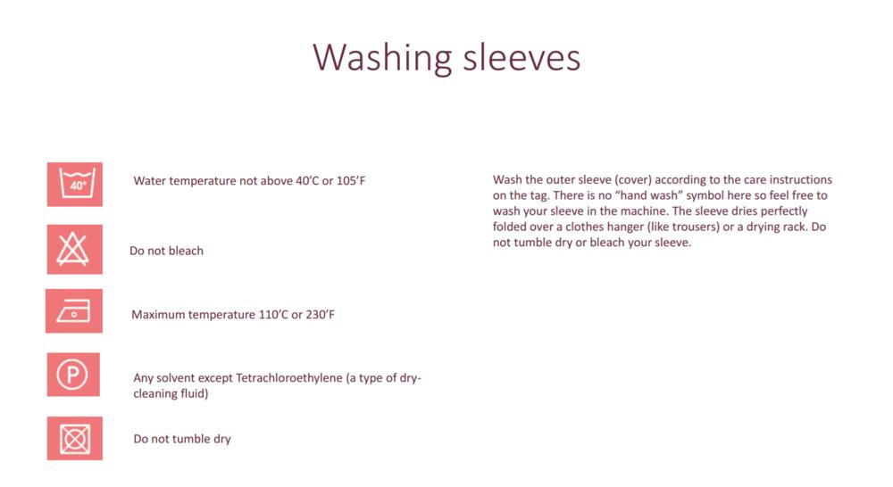 bbhgume washing sleeves