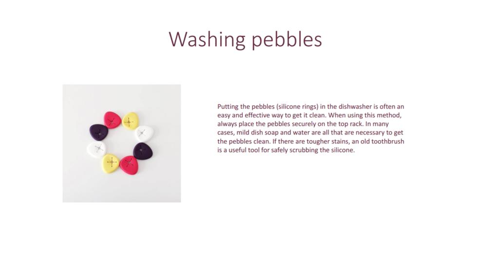 bbhugme pebbles washing instructions