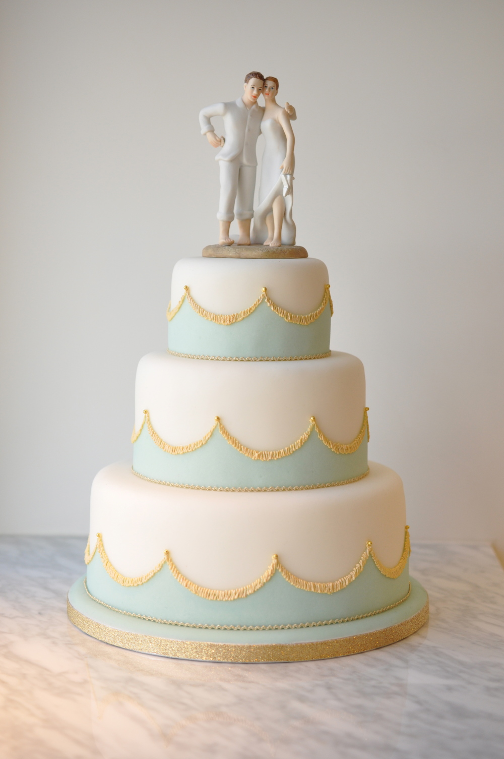 WEDDING CAKES - THE SURREY — ROSEY CONFECTIONERY SUGAR ART