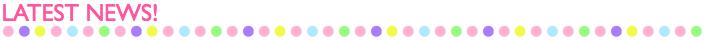 30.JUL.2014    追加開催クラス情報 をUPいたしました☆  27.JUN.2014   8月−10月に開催する スペシャル&イベントクラスの最新残席状況 をUPいたしました☆
