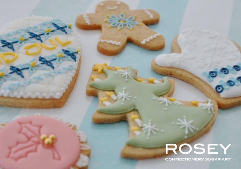 イメージ画像  CHRISTMAS ICING COOKIES B クリスマス・アイシングクッキー B   レベル:★☆☆